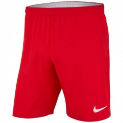 SHORT WOVEN ADULTE ROUGE